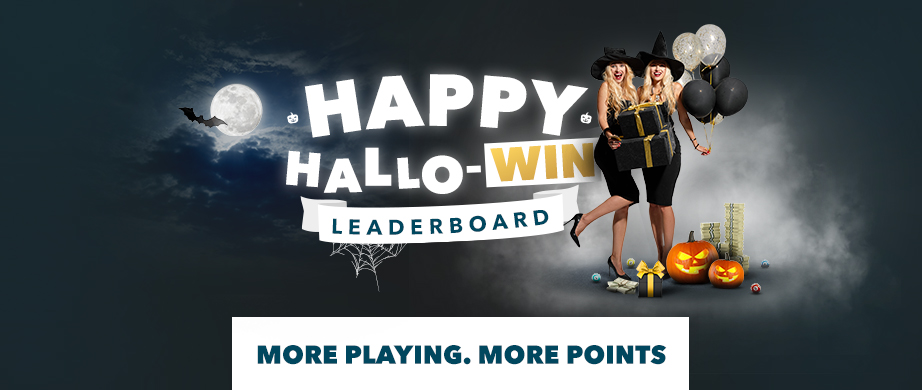 CLIMB THE LEADERBOARD AND WIN THIS HALLOWEEN!