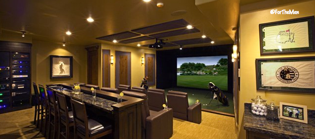 What kind of man cave would you design for Room design simulator free